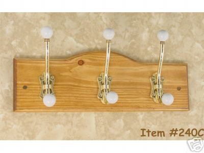 Primary image for Coat Hooks - Brass Coat Hooks