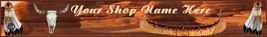 Native American  custom designed web banner - $7.00