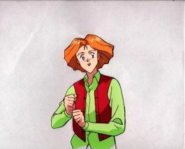 "Ashita e Free Kick ""Orange Hair Guy"" Anime Cel (0179) - $5.00"