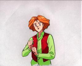 "Ashita e Free Kick ""Orange Hair Guy"" Anime Cel (0180) - $5.00"