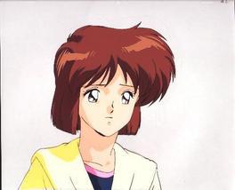 "Ashita e Free Kick ""Mizuho Aritaka"" CUTE Anime Cel (0187) - $5.00"