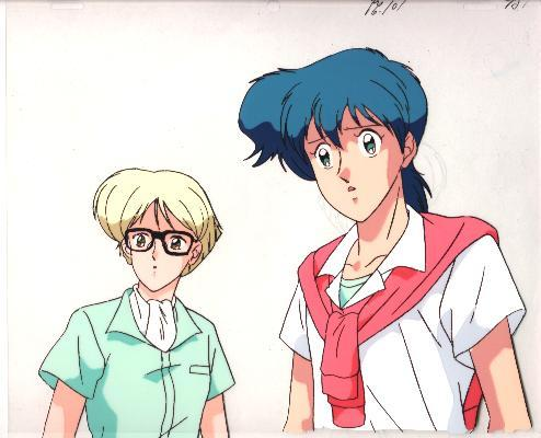 """Ashita e Free Kick """"Godai/Roberto"""" Anime Cel (0188)"""