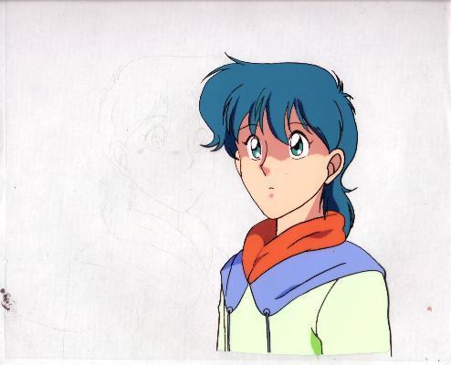 """Ashita e Free Kick """"Syun Godai"""" Anime Cel (0191)"""