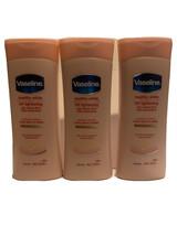 (3) Vaseline Lotion 400 ML Each Healthy White UV Lightening  Vitamin  B3 - $56.07