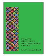 Bead Peyote Bracelet Afghan-Squares Needlepoint Pattern PDF - $4.50