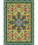 French Vintage Rug Bead Loom Tapestry Pattern PDF - $8.00