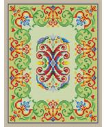 Cross Stitch Pattern PDF Vintage Birds Parrots Border Motif Tapestry Mul... - $6.00