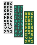 Bead Loom Alphabet 1 All Letters Bracelet Pattern Chart PDF - $5.50