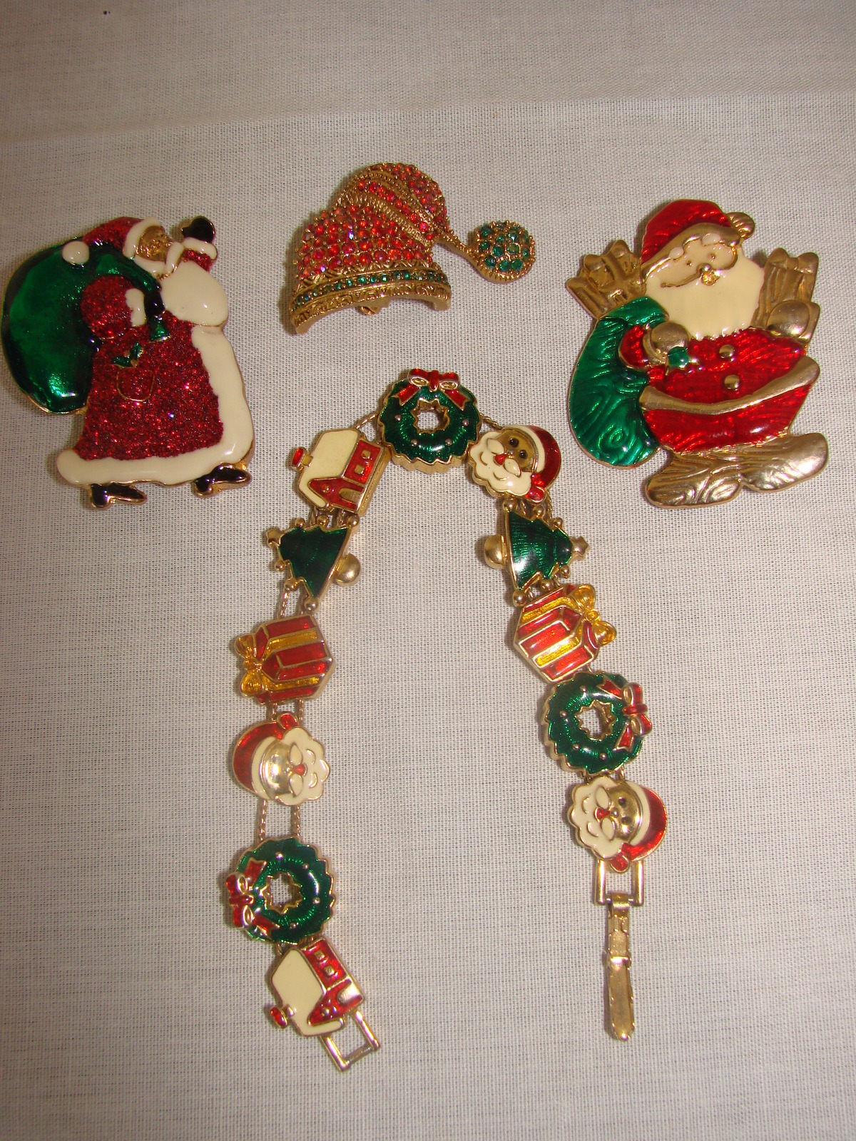 Christmas Jewelry-4 PIECE