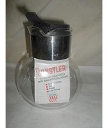 """Gemco """" The Whistler"""" GlasKettle """"E-1"""" 4-Cup - $8.00"""