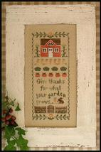 Harvest Blessing cross stitch chart Country Cottage Needleworks - $7.20