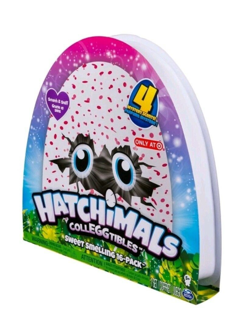 Hatchimals Colleggtibles Sweet Smelling 16 Pack EXCLUSIVE, New