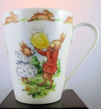 """Royal Doulton Bunnykins """"Happy 18'th Birthday Cup"""" 2 Avail. Priced Each - $9.49"""
