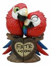 Tropical Rainforest Lovers Paradise Birds Scarlet Macaw Parrot Couple St... - £16.97 GBP