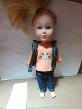 "My Life as Doll Mini 7"" Outdoorsy Girl blonde Hair with jeans  - $10.00"