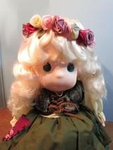 "Precious Moments Classic doll ""EMMA"" 16"" blonde hair/blue eyes - $34.65"