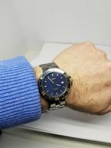 Blue Sports Watch Swiss Rado Diastar treated Quartz Date Titanium / Ceramic 200m - $1,611.25