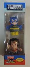 Fisher-Price Little People DC Super Friends Wonder Woman & Batgirl - New - $10.00