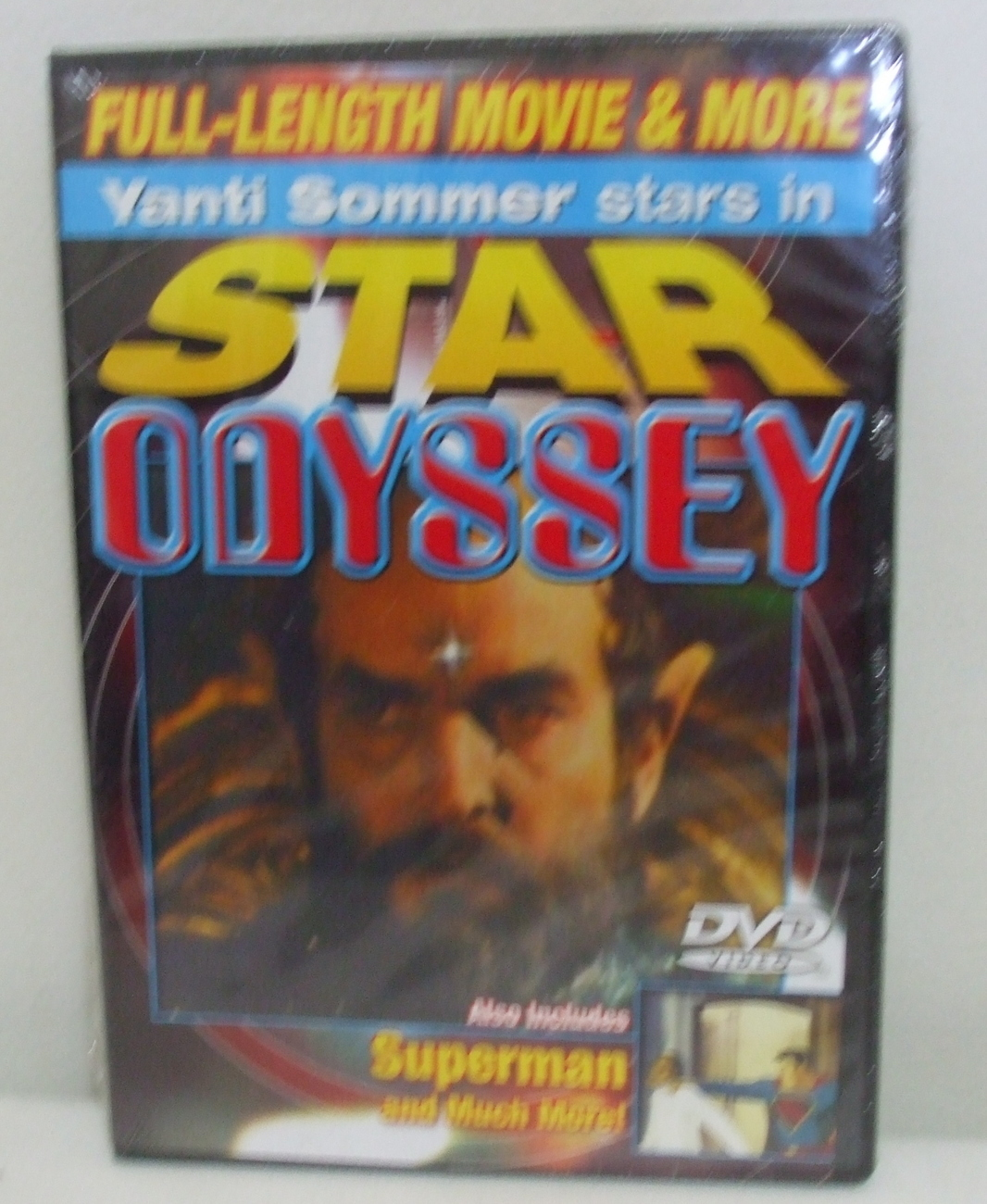 DVD New Sealed Star Odyssey and Superman