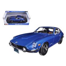 1971 Datsun 240Z Blue 1/18 Diecast Car Model by Maisto 31170bl - $45.29