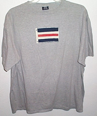 Mens LandsEnd Gray Short Sleeve T Shirt Size XL