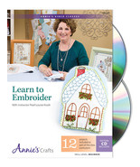 Learn To Embroider Class DVD beginner instructional tutorial video  - $22.50