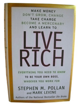 Take Charge and Learn to Live Rich:Pollan/Lavine (HC) from Authors of Di... - $6.60