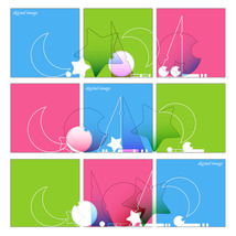 """Arrangement of Astronomy_3 Series"" Abstract Digital Drawing JPEG Image ... - $15.25"