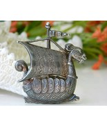 Dragon Viking Ship Sailboat Vintage Figural Pin... - $24.95