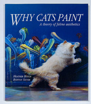 WHY CATS PAINT A THEORY OF FELINE AESTHETICS PAPERBACK  BOOK - $11.87