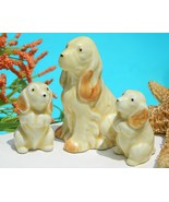 Vintage_cocker_spaniel_dog_pups_family_japan_porcelain_figurines_thumbtall