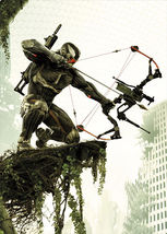 "Crysis 3 Hunter Poster 32"" - $13.95"