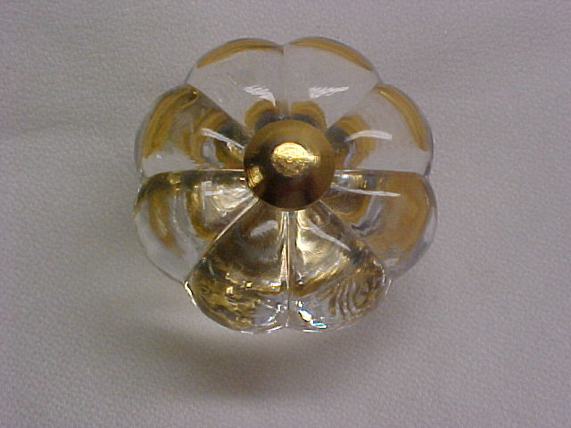 30 mm Crysacrylic Crystal Cabinet Knob Belwith P30-CA3
