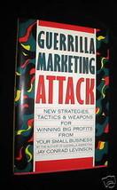 Guerrrilla Marketing Attack Hardcover Book Jay Conrad Levinson Business ... - $7.61