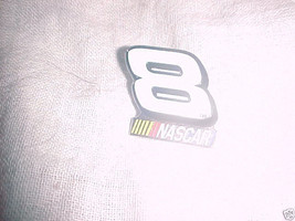 NUMBER 8 RACING PIN - BRAND NEW - $7.99