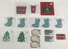 STARBUCKS Christmas Gift Cards (Qty 18) - $12.19