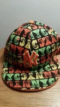"""New York Yankees New Era 59Fifty Size 7 1/8 Multicolored """"NYC"""" Fitted Hat - $16.82"""
