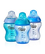 Tommee Tippee Closer to Nature Color My World Baby Bottle, Anti-Colic Va... - $30.54