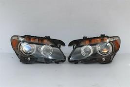 06-08 BMW E65 E66 750i 760i HID AFS Active Headlight Lamps Set L&R