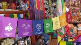 Chakra New Design Prayer Flags from the Land of Buddha - $7.92