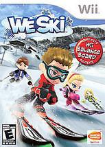 We Ski - Nintendo  Wii Game - $9.49