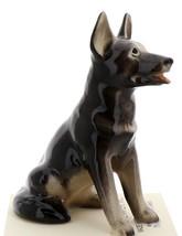 Hagen-Renaker Miniature Ceramic Dog Figurine German Shepherd Sitting
