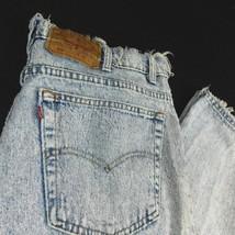VTG Levis 550 Distressed Acid Washed Blue Denim Jeans W 40 (Act W 38) L ... - $59.99