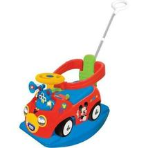 Kiddieland Disney Mickey Mouse Clubhouse 4-in-1 Activity Ride-On - $92.99