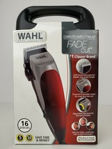 Hair Clippers New Wahl Electric Fade Cut Pro 16pc Set Home Hair Cut Groo... - $46.74
