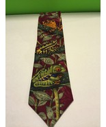 Puritan Special Edition Silk Necktie Bruce's Rainforest 1998 Marc Dennis - $6.98