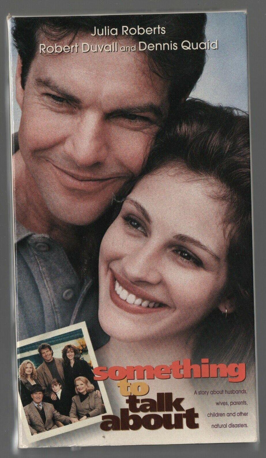 Something to Talk About - Julia Roberts, Robert Duvail - Warner Bros - VHS 14217