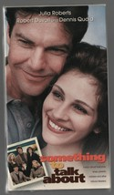 Something to Talk About - Julia Roberts, Robert Duvail - Warner Bros - VHS 14217 image 1