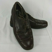 Mens Size 13 Clarks Lace Up Brown Leather Casual Comfort Shoes  - $39.15