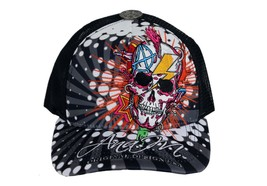 BRAND NEW UNISEX SKULL ROCK  EMBROIDERED ADJUSTABLE HAT CAP SNAPBACK ONE SIZE